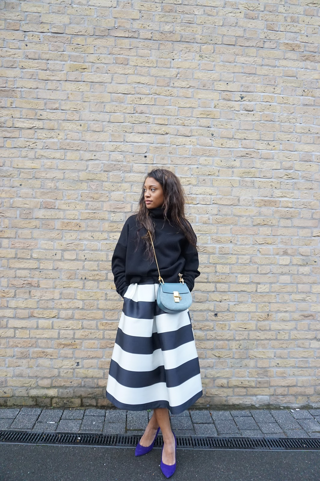 The Monochrome Skirt