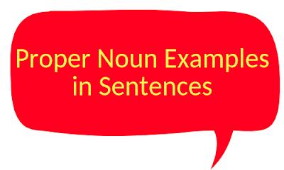 proper noun examples