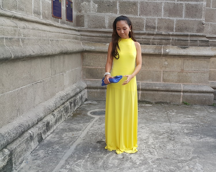 The Budget Fashion Seeker - OOTD Yellow Gown from Florence Fling 3