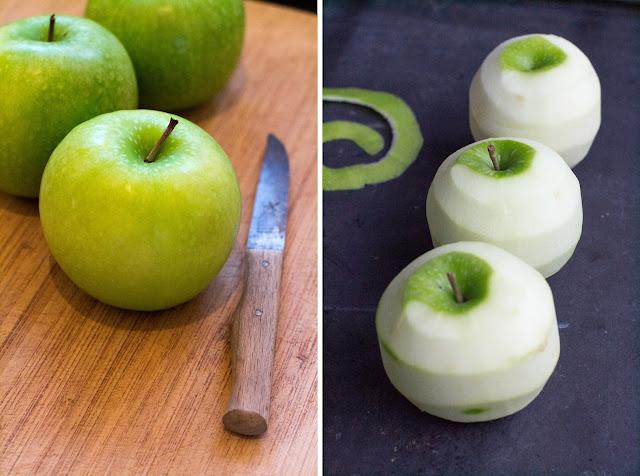 Apfeltarte / Tarte aux pommes / Applepie