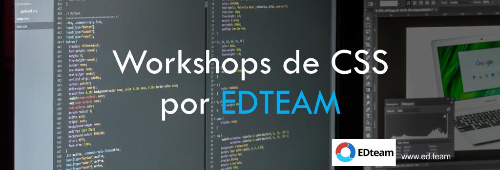 Workshops de CSS por EDTEAM