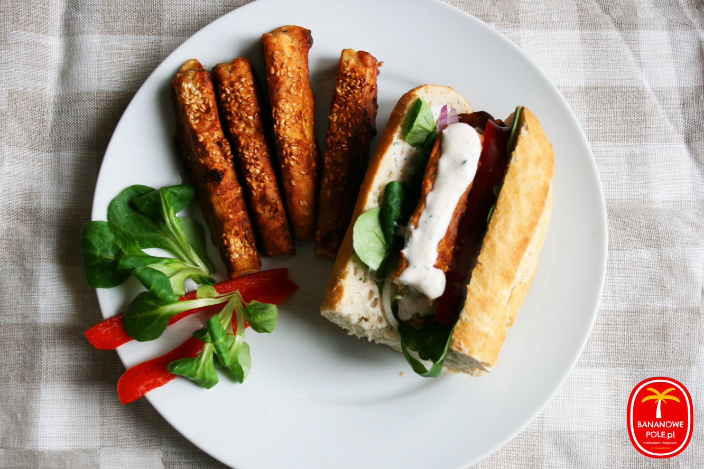 Paluszki z tofu w panierce, Hot-tofu