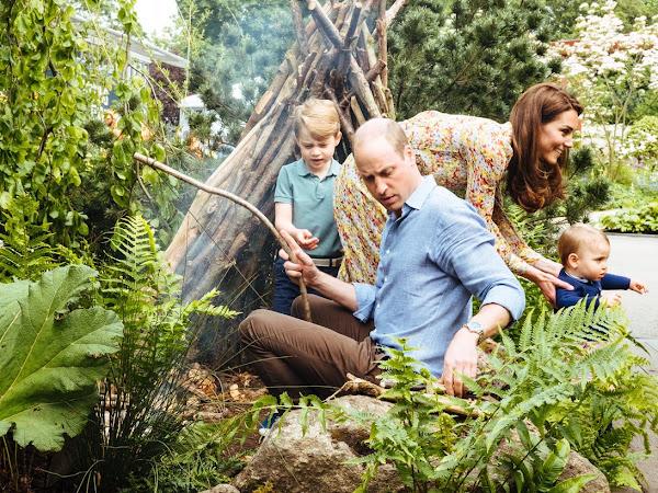 "Aktualizacja: Ogród księżnej Catherine ,,Back to the nature"" na Chelsea Flower Show."
