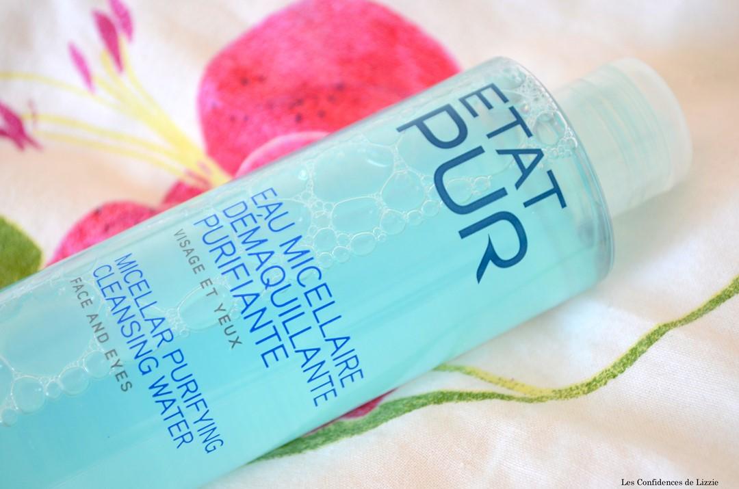 Etat Pur - cosmétique - démaquillant - soin purifiant - demaquillant purifiante - soin liquide demaquillant - soin demaquillant efficace
