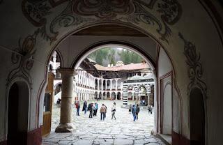 Monasterio de Rila, Puerta Oeste o Dupnitsa.
