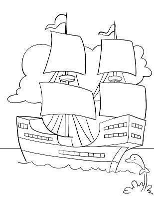 Dibujos De Cristobal Colón En Color Blog De Imágenes