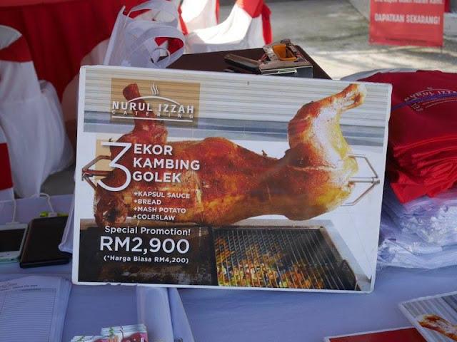 Nurul Izzah Catering - kambing golek promosi
