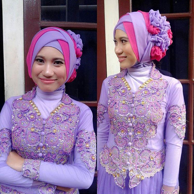 Tutorial Hijab Memakai Baju Kebaya Tutorial Hijab Cara Memakai