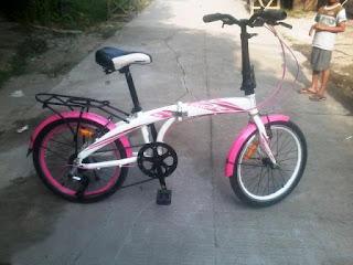 Sepeda Lipat Bekas
