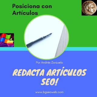 CLAVES del posicionamiento SEO en buscadores escribiendo artículos para blogs. Cómo escribir artículos que posicionen.