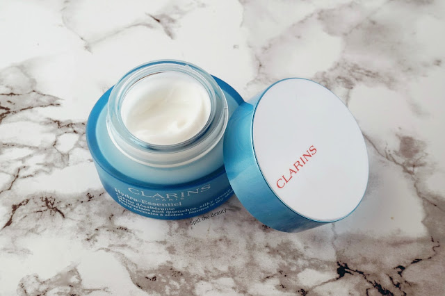clarins hydra essentiel bi phase serum silky cream skincare review