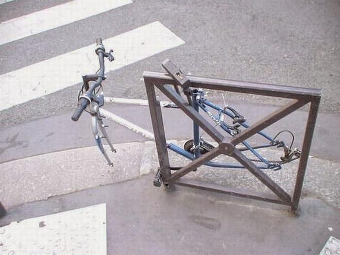 защита +от кражи велосипеда