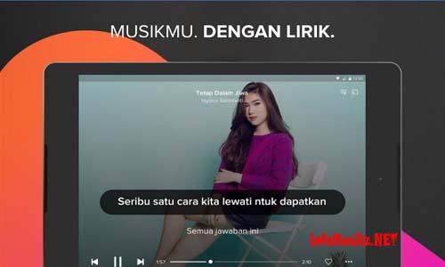 Aplikasi Pemutar Musik Android Musixmatch