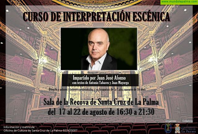 Curso de Interpretación Escénica en Santa Cruz de La Palma