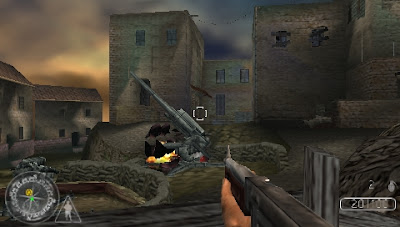 Call of Duty: Roads to Victory PSP - Screenshot 3