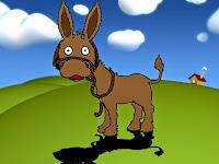 1001 Dongeng Anak singkat Kisah Si bodoh dan Keledai