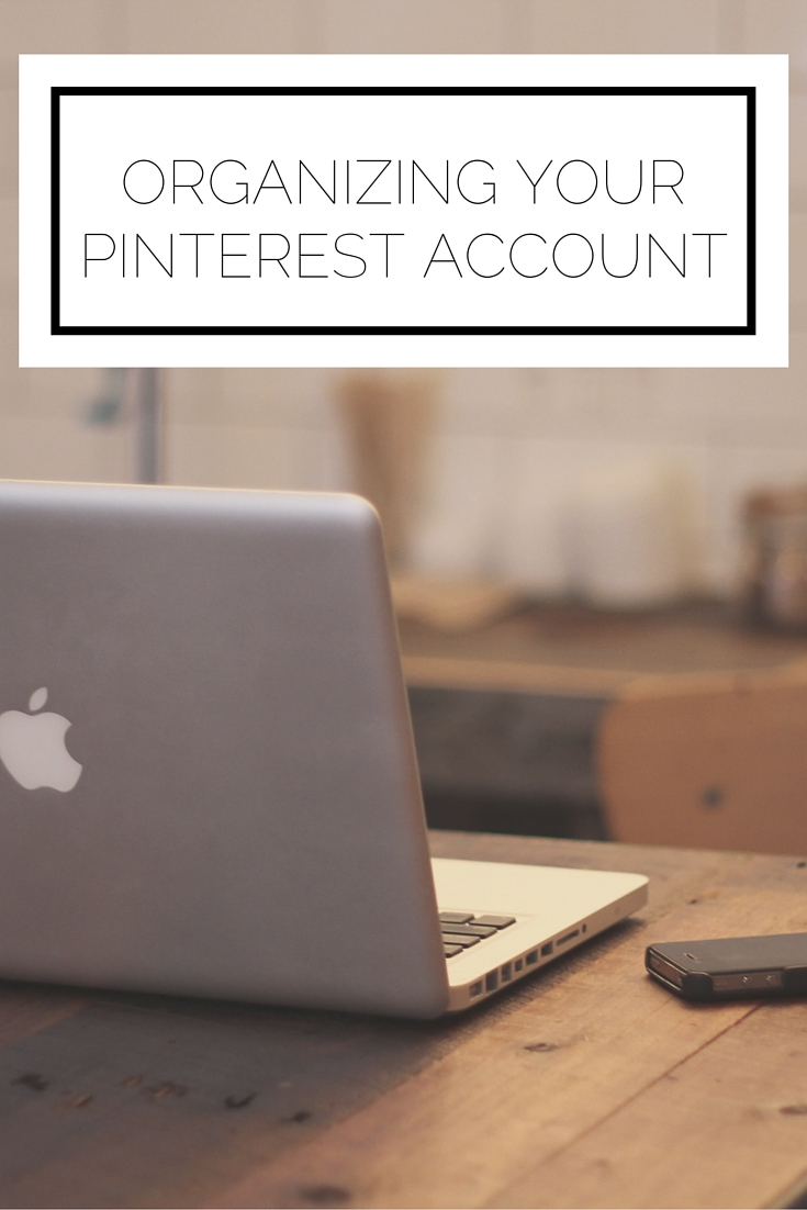 Organizing Your Pinterest Account