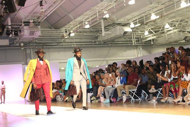Uti Nwachukwu Africa Fashion Week London 2016