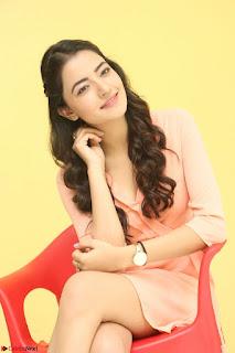 Rukshar Mir in a Peachy Deep Neck Short Dress 043.JPG