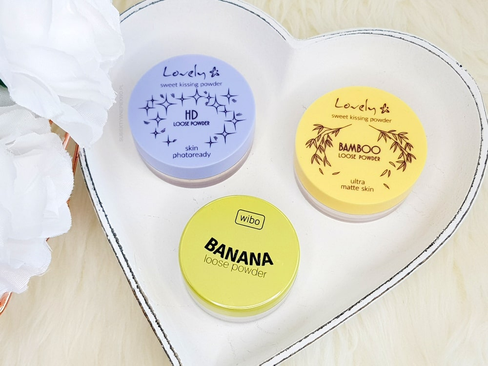 PUDER WIBO BANANA | PUDER LOVELY HD I BAMBOO LOOSE POWDER
