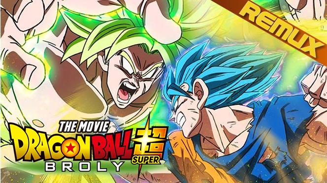 Dragon Ball Super: Broly (2018) REMUX 1080p Latino