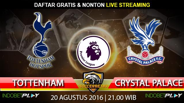 Prediksi Tottenham vs Crystal Palace 20 Agustus 2016 (Liga Inggris)