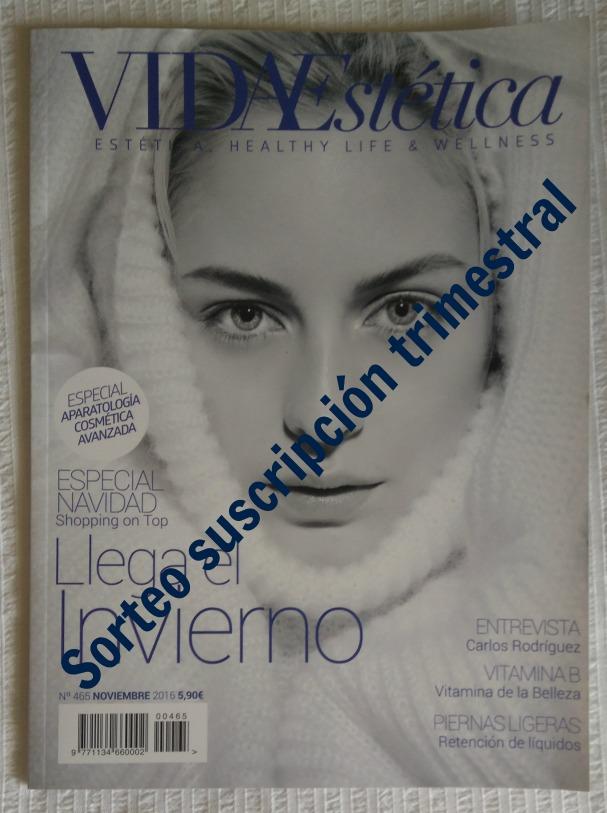 Sorteo Revista Vida Estética