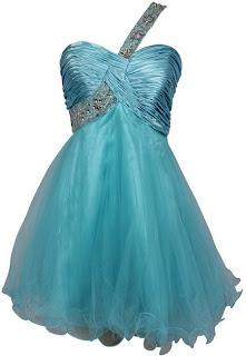 Ice blue short princess exciting short prom dresses 2013 - 2014 goddess prom gowns