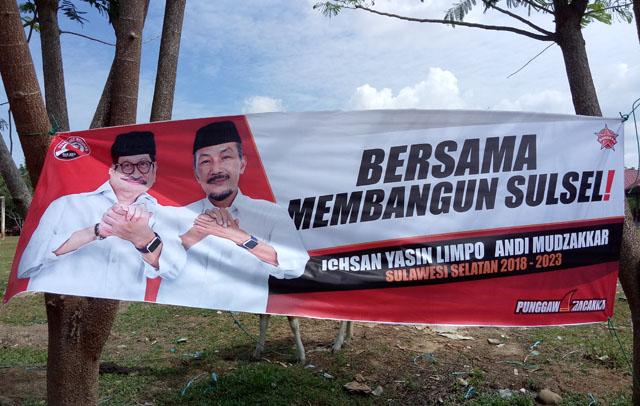 Banner IYL-Cakka Disebar Dikampung NH