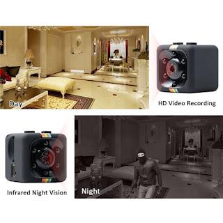 micro spia telecamera sq11