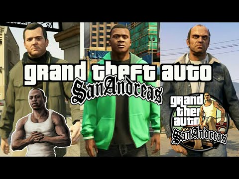 How to Character Switch GTA San Andreas on Android 🙂🙂