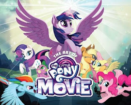 My Little Pony The Art of My Little Pony: The Movie Books