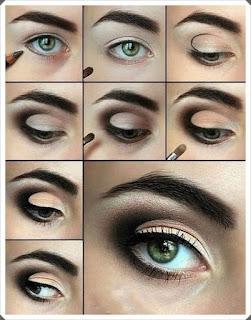 Çeşitli Göz Makyajı Yapım Örnekleri 3
