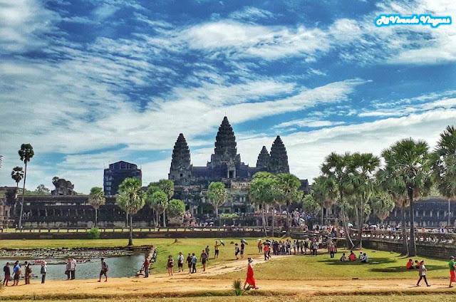 Templo de Angkor Wat, no Camboja