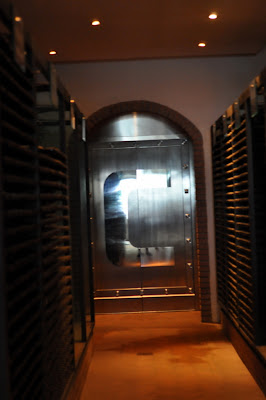 Wine Vault at Capannelle in Gaiole in Chianti, Italy - Photo by Taste As You Go