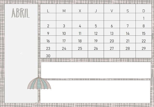 calendario, descargar, gratis, imprimir, pdf