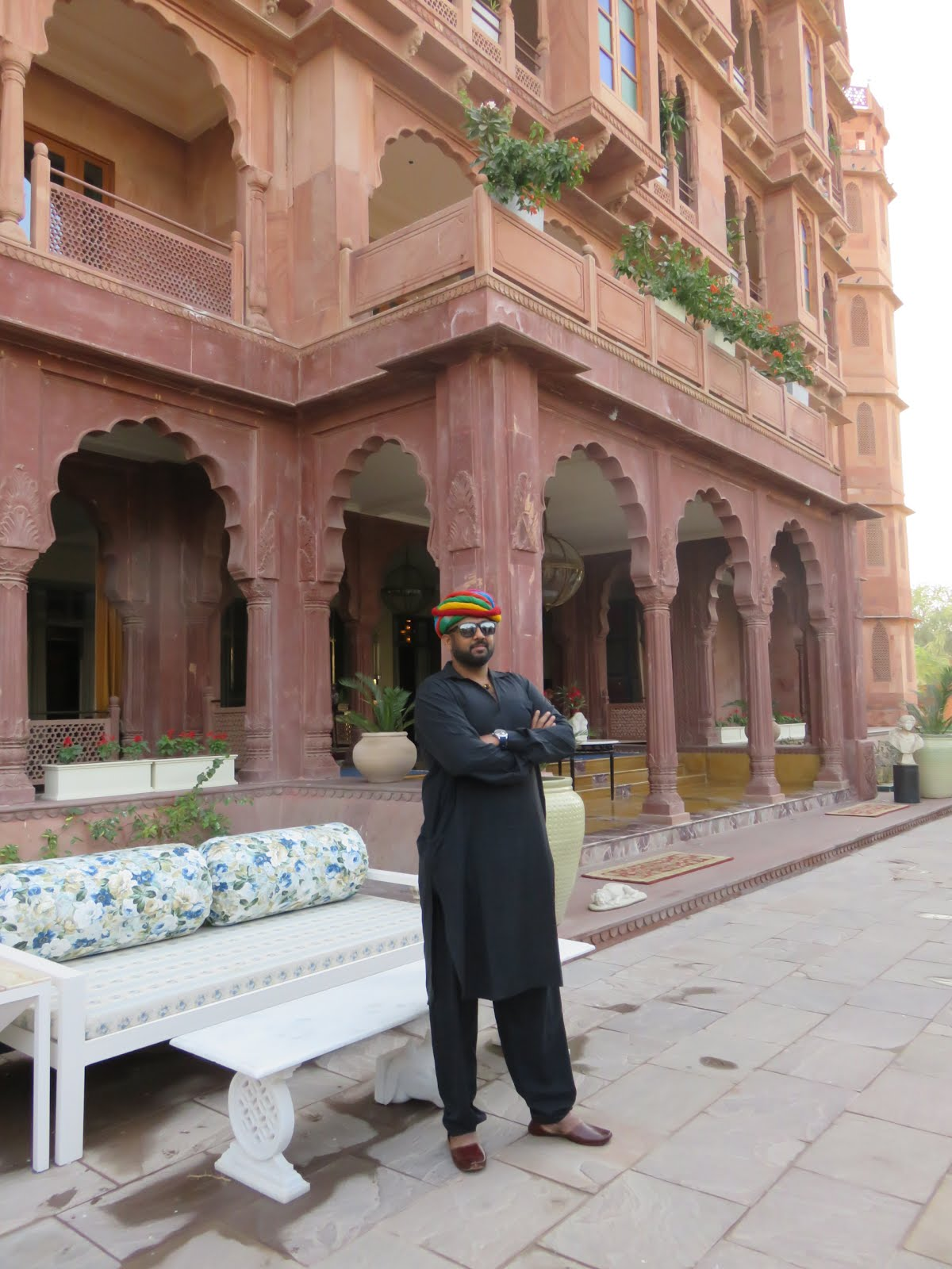 At the newly launched Bikaner's regal address - Narendra Bhawan