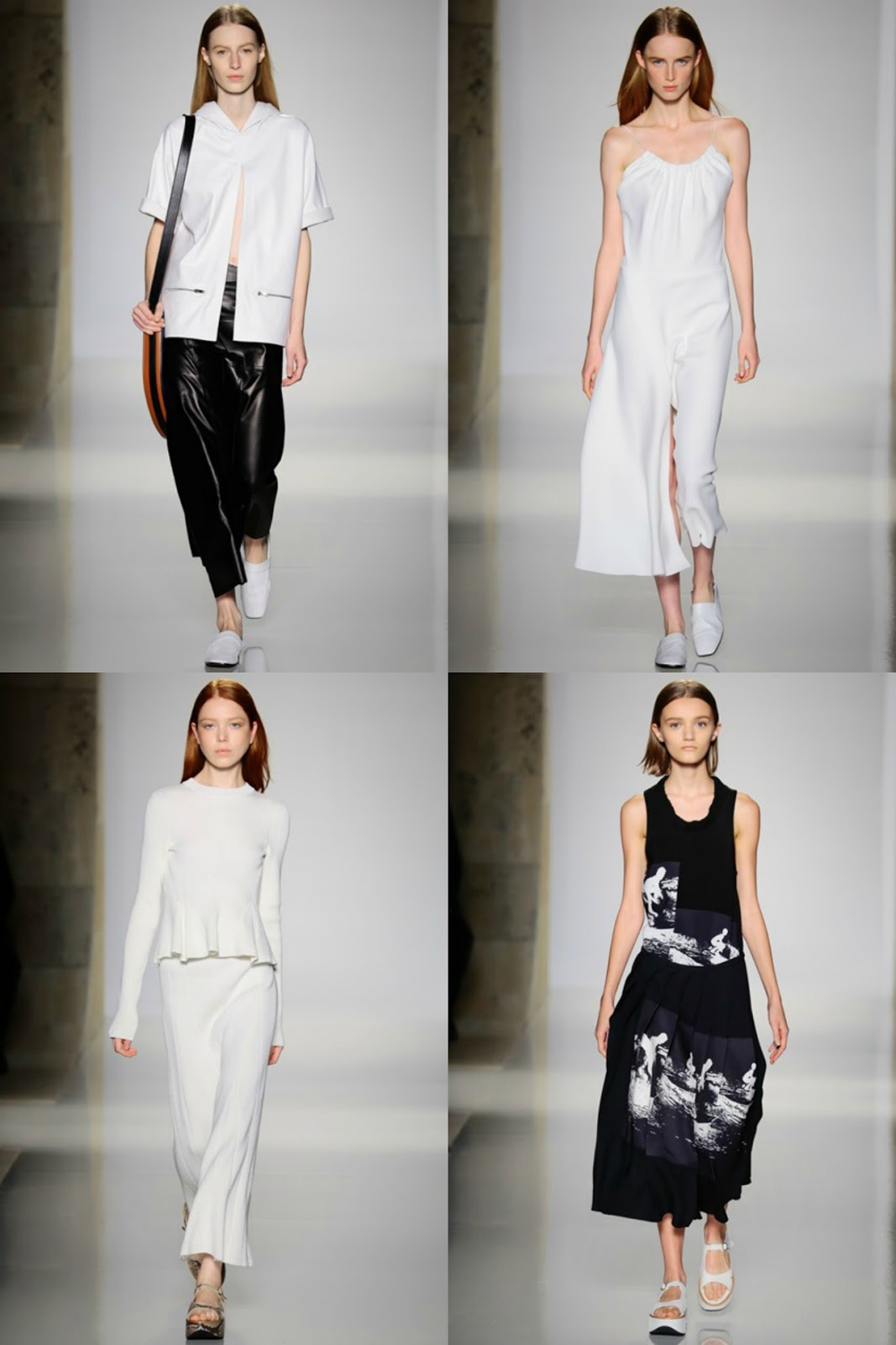 Eniwhere Fashion - B&W - Victoria Beckham SS2016