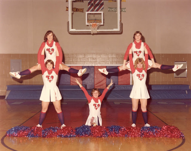Cheerleaders c.1980s