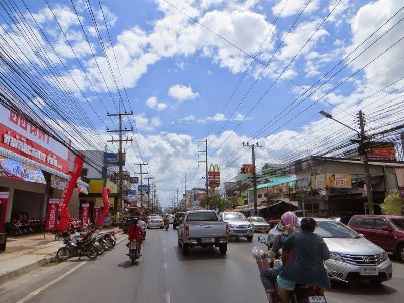 Плотный поток Таиланд