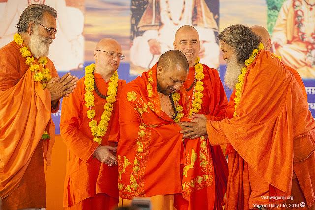 Yogi Adityanath A mahant of Gorakhnath Mutt