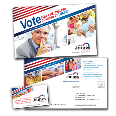 campaign mailer template - political postcards political postcards political