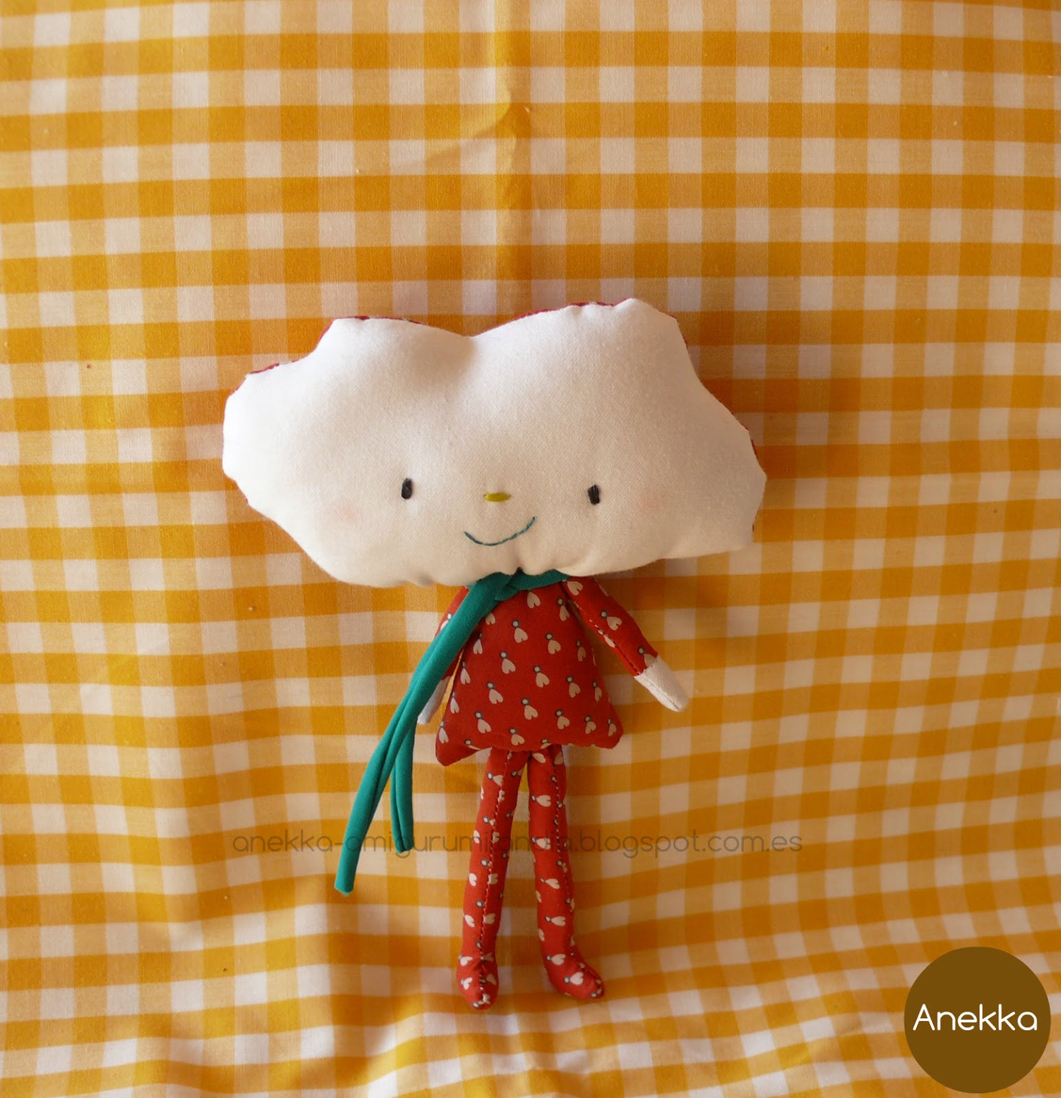 sweet cloud doll anekka handmade