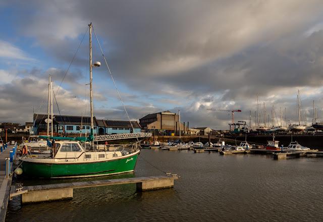 Photo of Sunday afternoon at Maryport Marina