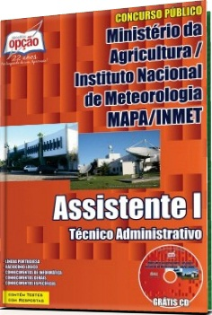 Apostila Concurso MAPA/INMET Assistente
