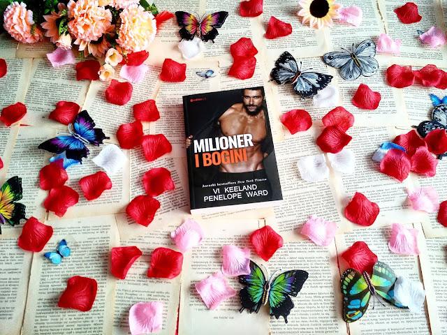 """Drobne kłamstwo, prawda i komplikacje, czyli recenzja powieści Vi Keeland i Penelope Ward pt.""""Milioner i bogini"""""""