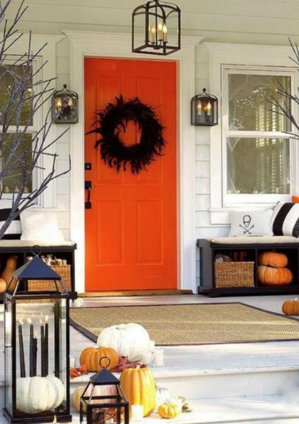 that orange door! & ciao! newport beach: that orange door!