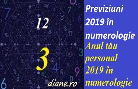 Previziuni 2019 în numerologie | Anul tău personal 2019 în numerologie