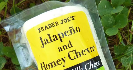 What's Good at Trader Joe's?: Trader Joe's Jalapeño and Honey Chevre