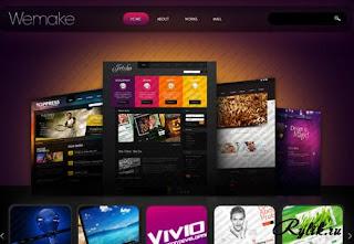 templates gratis websites(designer webmake)